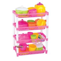 Dede toys - Oyuncak Mutfak Sepeti 4 Katlı