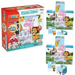 Dede toys - Resimli Küp Oyuncaklar 9 Dokuzlu
