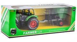 MEGA - 1:24 Sürtmeli Traktör 95526
