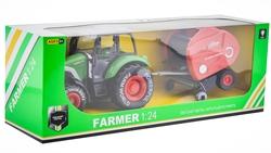 MEGA - 1:24 Sürtmeli Traktör 95528