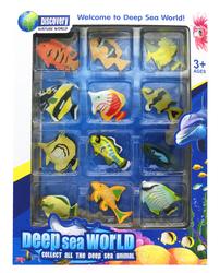 MEGA - Oyuncak Balık Fiğürleri 12'li Balık Seti