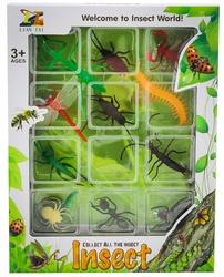 MEGA - 12'Li Vahşi Hayvan Seti Böcekler