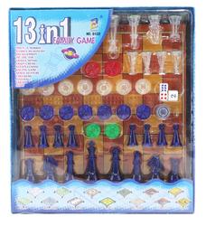 MEGA - 13'ü 1 Arada Aile Oyunları Seti