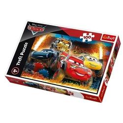 TRELF - 16358 Trefl Puzzle Cars 3 Extreme Race 100 Parça Puzzle