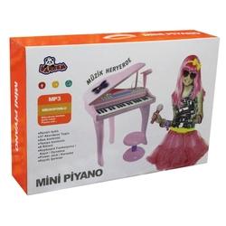 37 Tuşlu Karaoke Piyano Org Mikrofonlu Mp3 Girişli - Thumbnail