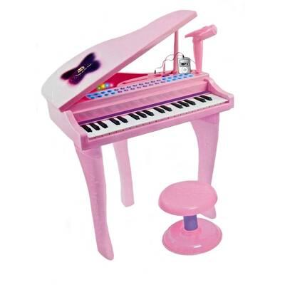 37 Tuşlu Karaoke Piyano Org Mikrofonlu Mp3 Girişli