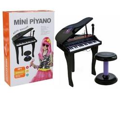 Vardem Oyuncak - 37 Tuşlu Kuyruklu Karaoke Piyano Elektronik