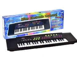 Can Oyuncak - 37 Tuşlu Org Pilli Mikrofonlu Electronic Keyboard / +3 yaş
