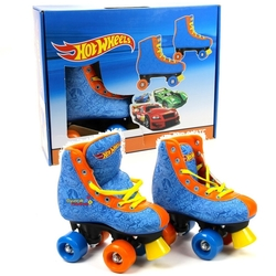 Hot Wheels - 4 Tekerlekli Hot Wheels Ayakkabı Paten 34/35