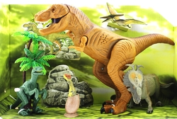 MEGA - 4lü sesli dinozor oyun seti
