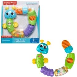 Fisher Price - 6 Ay Oyuncak Mattel Fisher Price Tak Çıkar Renkli Tırtıl