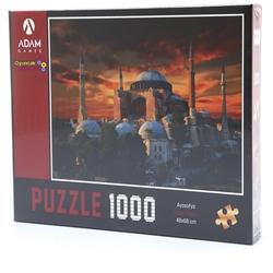 Adam Games - Adam Games Puzzle 1000 Parça Ayasofya Camii