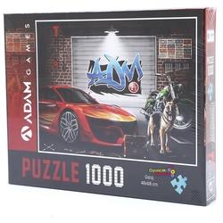 Adam Games - Adam Games Puzzle 1000 Parça Garaj