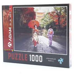 Adam Games - Adam Games Puzzle 1000 Parça Japon Kadınları