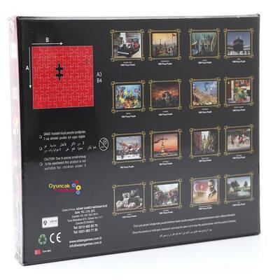 Adam Games Puzzle 1000 Parça Kapadokya-2