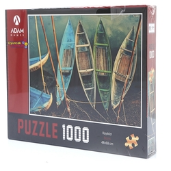 Adam Games - Adam Games Puzzle 1000 Parça Kayıklar