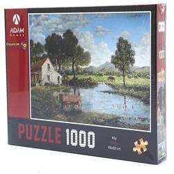 Adam Games - Adam Games Puzzle 1000 Parça Köy Manzarası