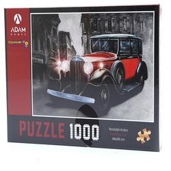 Adam Games - Adam Games Puzzle 1000 Parça Nostaljik Araba