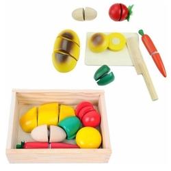Hamaha Oyuncak - Ahşap Meyve Kesme Oyunu Kutulu
