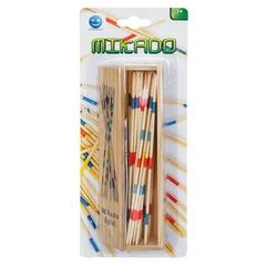 Sunman - Ahşap Mikado Oyun Çubukları Kutulu Kapaklı