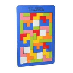 Hamaha Oyuncak - Ahşap Tetris Oyun Blokları 6mm