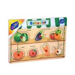 PlayWood-Onyıl - Ahşap Tutmalı Sebzeler ve Meyveler