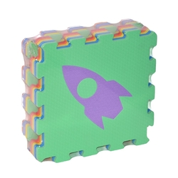 Fabrika-Akar - Akar Eco Eva Oyun Minderi Karosu Oyun Matı Taşıtlar 33x33 Cm 10 mm