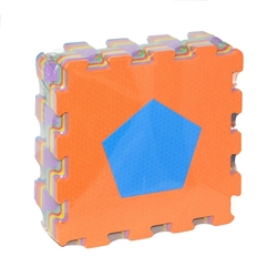 Fabrika-Akar - Akar Eco Eva Puzzle Oyun Karosu Oyun Matı Geometrik Şekiller 33x33 Cm 10 mm