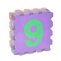 Fabrika-Akar - Akar Eva Puzzle Oyun Karosu Oyun Matı 33x33 Cm 10 mm Rakamlar