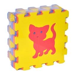 Fabrika-Akar - Akar Eva Puzzle Oyun Karosu Oyun Matı Hayvanlar 33x33 10 mm