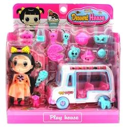 MEGA - Arabalı Tatlıcı Kız Oyun Seti