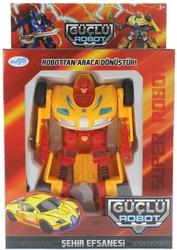 MEGA - Araca Dönüşen Sarı Güçlü Robot