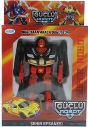 MEGA - Araca Dönüşen Siyah Güçlü Robot