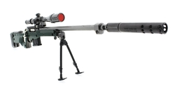 MEGA - Arctic Warfare Süper Magnum AWM Metal model Tüfek