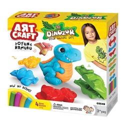 Art Craft - Art Craft 3D Dinozor Oyun Hamuru Seti