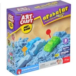 Art Craft - Art Craft Arabalar Kurumayan Kinetik Kum Seti 500 gr