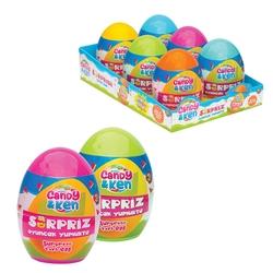 Dede Toys - Art Craft Candy Ken Sürpriz Oyuncak Yumurta Büyük Boy