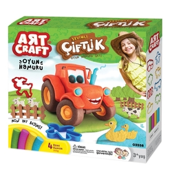 Art Craft - Art Craft Çiftlik Oyun Hamuru Seti 200 Gr