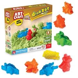 Art Craft - Art Craft Dinozor Kinetik Kum Seti Kurumaz Kum 500 gr