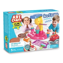 Art Craft - Art Craft Dondurma Oyun Hamuru Seti