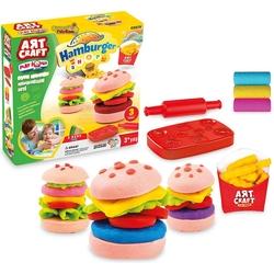 Art Craft - Art Craft Hamburger Oyun Hamuru Seti 150 gr