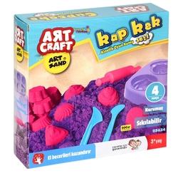 Art Craft - Art Craft Kap Kek Kurumayan Kinetik Kum Seti 500 gr