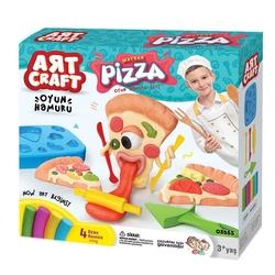 Art Craft - Art Craft Matrak Pizza Oyun Hamuru Seti 200 Gr