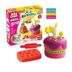 Art Craft - Art Craft Oyun Hamuru Doğum Günü Seti