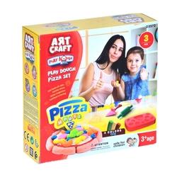 Art Craft - Art Craft Oyun Hamuru Pizza Seti Aksesuarlı