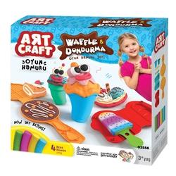 Art Craft - Artcraft Waffle Dondurma Oyun Hamur Seti 200 Gr