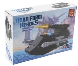 Ausini 43 Parça Titan Polis Hücumbot 25521-2 - Thumbnail