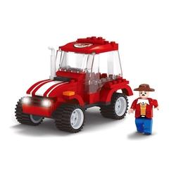 AUSINI - Ausini Çiftlik 99 Parça Kırmızı Traktör