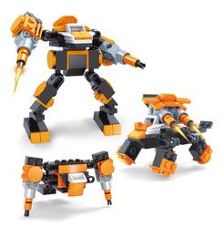 AUSINI - Ausini Titan Heroes Gunmer-4 58 Parça
