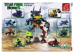 AUSINI - Ausini Titan Heroes Robot-R 592 Parça